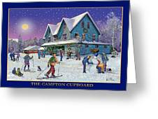 The Morning After At Campton New Hampshire Greeting Card by Nancy Griswold