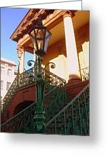 The Old City Market In Charleston Sc Greeting Card by Susanne Van Hulst