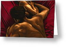 The Passion Greeting Card by Richard Young