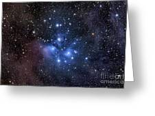 The Pleiades, Also Known As The Seven Greeting Card by Roth Ritter
