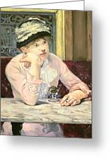 The Plum Greeting Card by Edouard Manet
