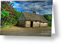 The Prairie House Greeting Card by Kim Shatwell-Irishphotographer