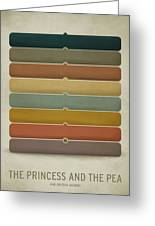 The Princess And The Pea Greeting Card by Christian Jackson