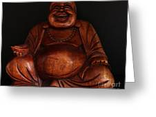 The Protector Of Wealth Greeting Card by Nancy Harrison