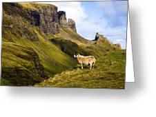 The Quiraing Isle of Skye Greeting Card by John McKinlay