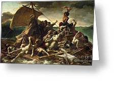 The Raft Of The Medusa Greeting Card by Theodore Gericault
