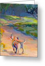 The Road Ahead Greeting Card by Kimberly Santini