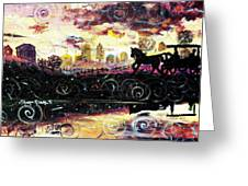 The Road To Home Greeting Card by Shana Rowe