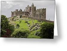 The Rock Of Cashel Ireland In Summer Greeting Card by Pierre Leclerc Photography