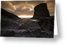 The Rocks Greeting Card by Angel  Tarantella