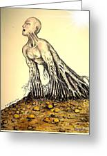 The Roots Are Deep Greeting Card by Paulo Zerbato