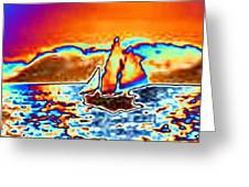 The Sail Greeting Card by Tim Allen