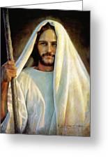 The Savior Greeting Card by Greg Olsen