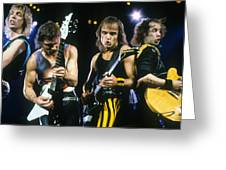 The Scorpions Greeting Card by Rich Fuscia