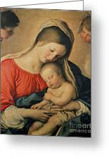 The Sleeping Christ Child Greeting Card by Il Sassoferrato