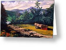 The Smokies Greeting Card by Jim Phillips