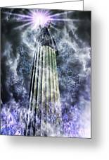 The Stormbringer Greeting Card by John Edwards