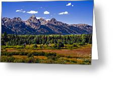 The Tetons II Greeting Card by Robert Bales
