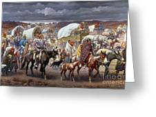The Trail Of Tears Greeting Card by Granger
