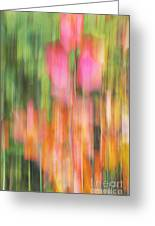 The Watercolor Garden Greeting Card by Aimelle