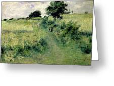 The Watering Place Greeting Card by Renoir