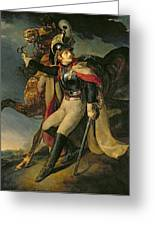 The Wounded Cuirassier Greeting Card by Theodore Gericault