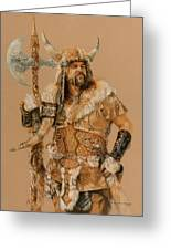 The Young Son Of Bor Greeting Card by Steven Paul Carlson