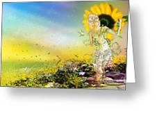 They Call Me Summer Greeting Card by Mary Hood