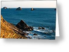 This Is Oregon State 1 - The Oregon Coast Greeting Card by Paul W Sharpe Aka Wizard of Wonders