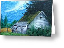 This Old House Greeting Card by Mike Ivey
