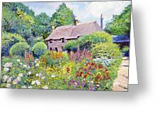 Thomas Hardy House Greeting Card by David Lloyd Glover