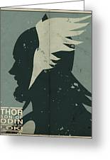 Thor Greeting Card by Michael Myers