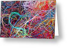 Thread Collection Greeting Card by Gwyn Newcombe