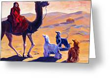 Three Wise Men Greeting Card by Terry  Chacon
