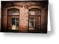 Through the window Greeting Card by Mandy Tabatt