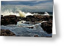 Tide Coming In Greeting Card by Christopher Holmes
