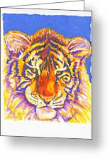 Tiger Greeting Card by Stephen Anderson