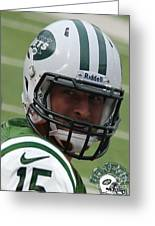 Tim Tebow - New York Jets Florida Gators - Timothy Richard Tebow Greeting Card by Lee Dos Santos