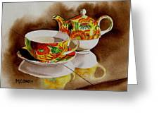 Time Out Greeting Card by Maria Barry