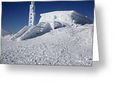 Tip Top House - Mount Washington New Hampshire  Greeting Card by Erin Paul Donovan