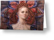 Titania 2 Greeting Card by Loretta Fasan