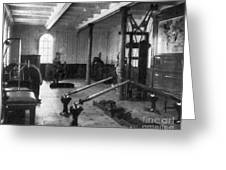 Titanic: Exercise Room, 1912 Greeting Card by Granger
