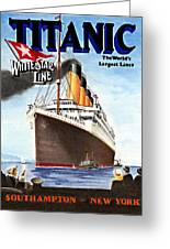 Titanic For My Wife Greeting Card by Lyle Brown