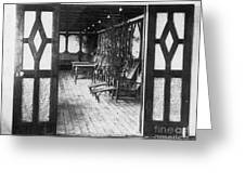 Titanic: Private Deck, 1912 Greeting Card by Granger