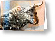 Toro Taurus Bull Greeting Card by Lutz Baar