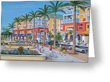 Town Center Abacoa Jupiter Greeting Card by Marilyn Dunlap