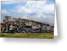 Train - Engine - Nickel Plate Road Greeting Card by Mike Savad
