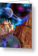 Transcendent Greeting Card by Corey Ford
