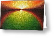 Transfiguration Greeting Card by Jaison Cianelli
