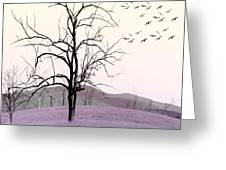 Tree Change Greeting Card by Holly Kempe